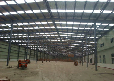 Large Span Prefabricated Engineered Building Construction With Indoor Office