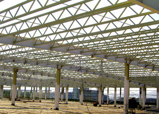 Truss Roof Steel Structure Warehouse For Factory Buildings Construction