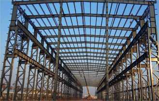Prefab Steel Industrial Building / Steel Frame Industrial Buildings Construction