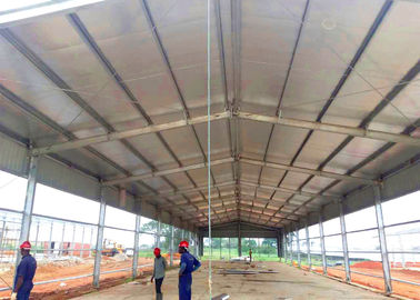 Hot Dip Galvanized Structural Steel Frame Buildings / Galvanized Steel Frame Building