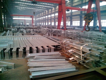Hot Dip Galvanized Steel Structure Fabrication / Galvanized steel structure