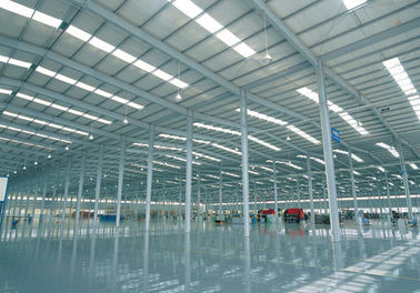 Large Span Pre engineered Steel Frame Structure Warehouse Buildings