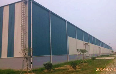 Steel Frame Structure Logistics Warehouse Buildings With Large Span