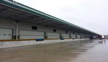 Logistics Steel Warehouse Buildings Contractor / Large Span Steel Structure Construction