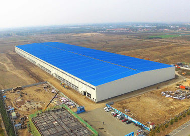 Steel Structure Warehouse Building Construction Large Span Easy Assemble