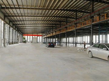 Modern Steel Structure Factory Building With Mezzanine Metal Workshop Construction