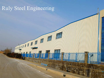 ASTM A36 Lightweight Multi Spans Steel Structure Warehouse