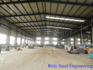 Insulation Panel Portal Frame Steel Structure Warehouse